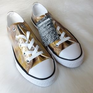 Converse | Gold - Multi Unisex Youth Sneakers Sz 3